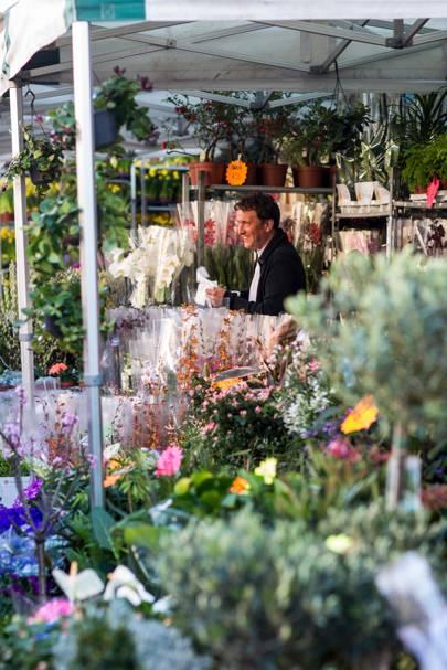 Columbia Road Flower Market, London