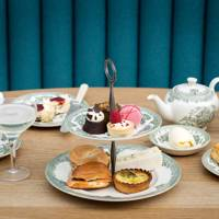 Afternoon Tea at Great Court Restaurant, British Museum
