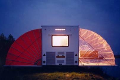 'Markies' caravan, Urban Camping Amsterdam