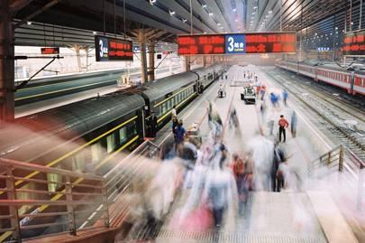 Beijing West station