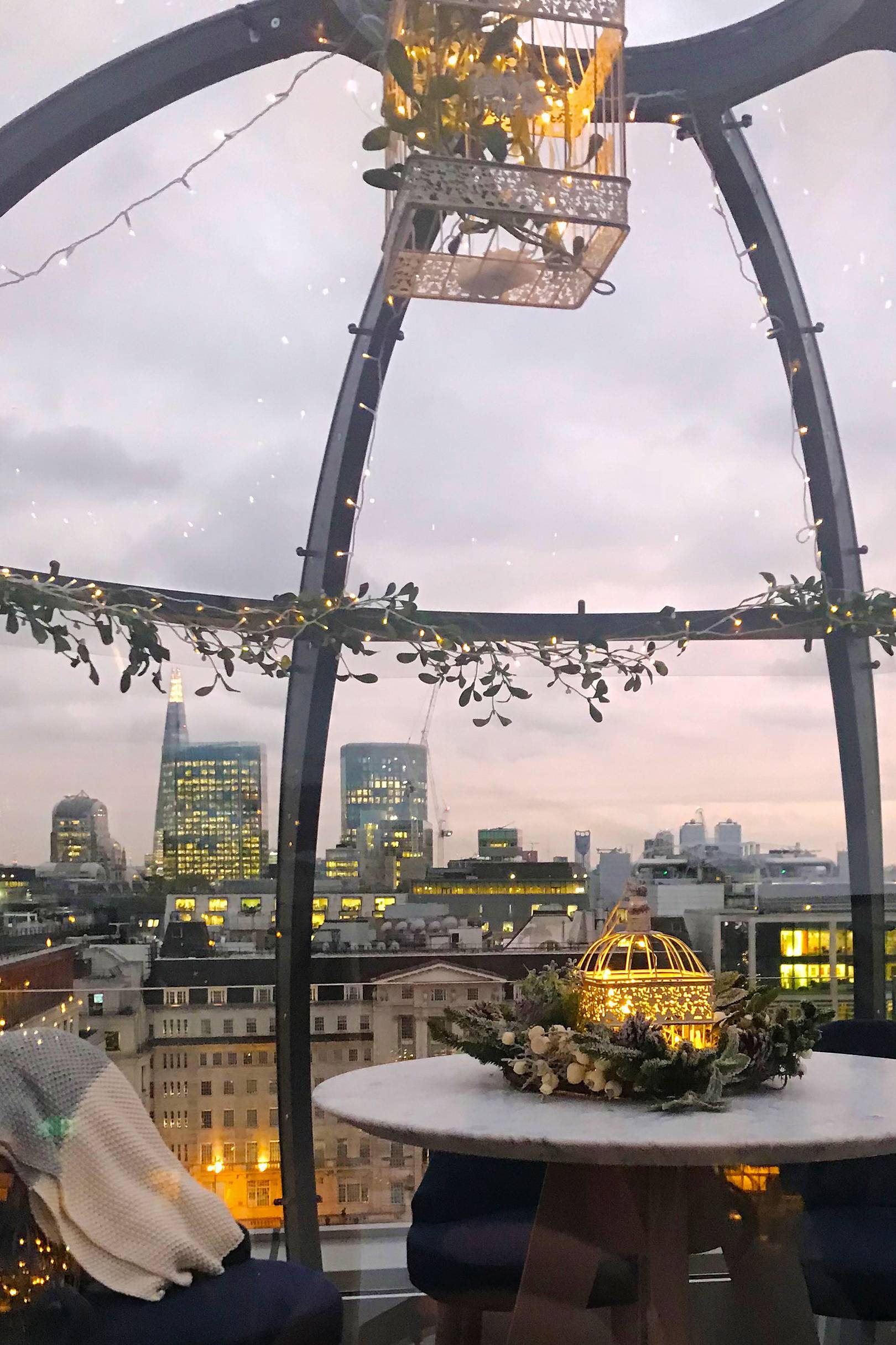 Best winter terraces in London