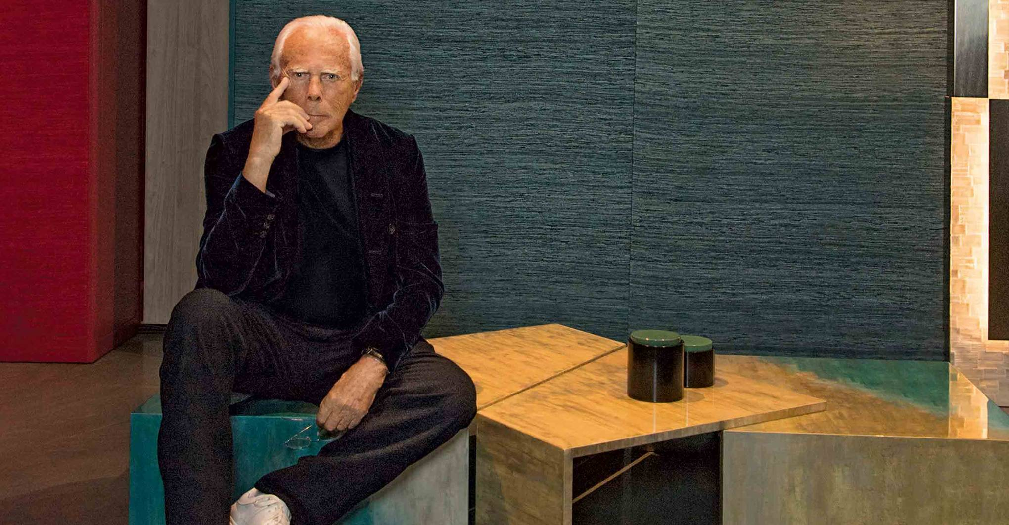 Giorgio Armani on his favourite places in Tokyo