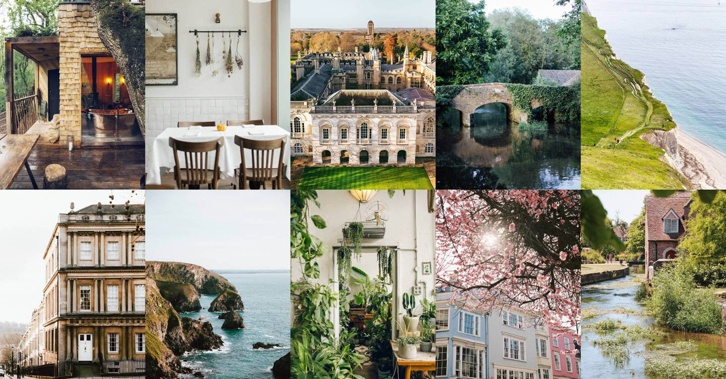 The most beautiful places in England