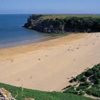 Barafundle Bay, Pembrokeshire, Wales