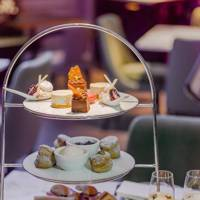 Afternoon tea at 11 Cadogan Gardens