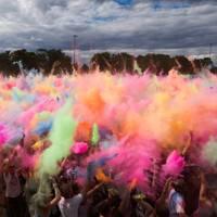 Holi Festival, Dresden, Germany