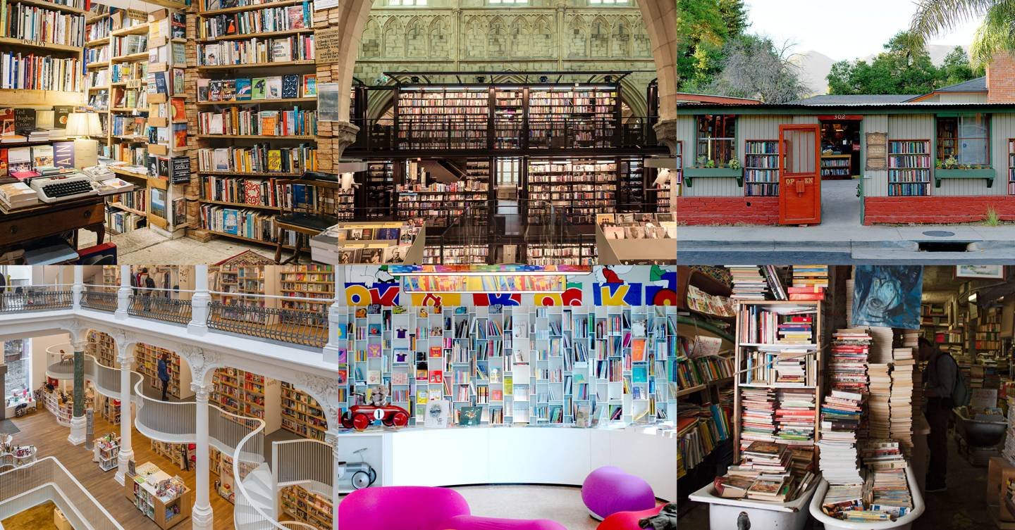 The most beautiful bookshops in the world
