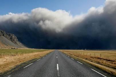 Icelandic volcano crisis in pictures