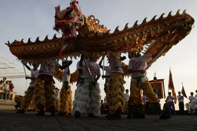 Chinese New Year celebrations in Cambodia