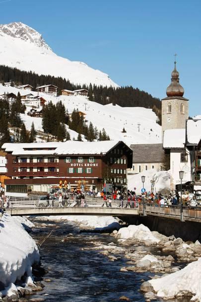 13. Lech, Austria