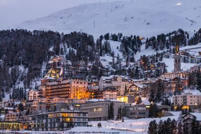 5. St Moritz, Switzerland