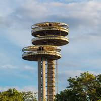 New York State Pavilion, Queens, New York USA
