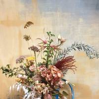 Flower arranging at Grace & Thorn