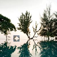 The pool at Knai Bang Chatt