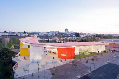 Madrid's skatepark and recreation centre