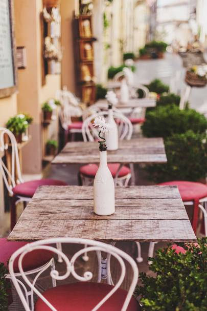 Café culture in the South of France
