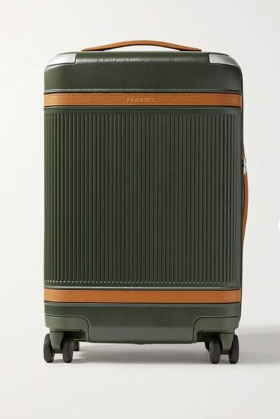Paravel recycled-polycarbonate suitcase