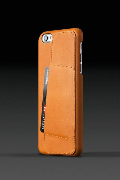 Mujjo leather wallet i-Phone case