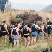 Bear Grylls Survival Academy's team leaders