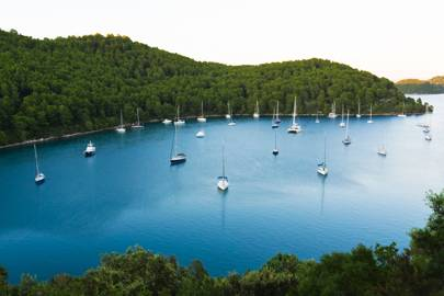 The island of Mljet, Croatia