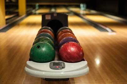 14. Go bowling