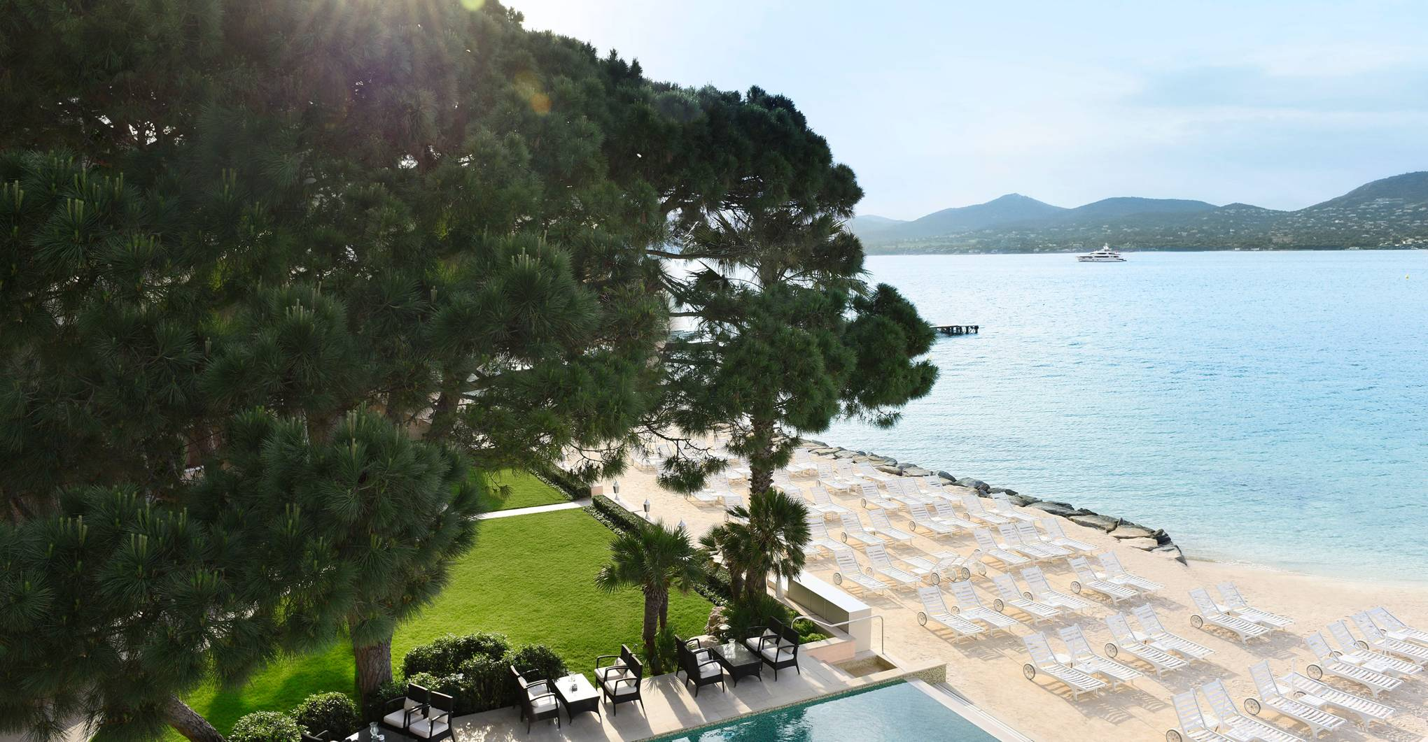 First in at the French Riviera's most extraordinary new hotel