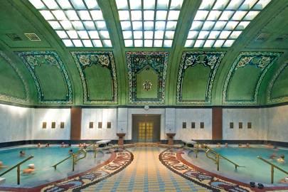 Géllert Thermal Bath, Budapest, Hungary