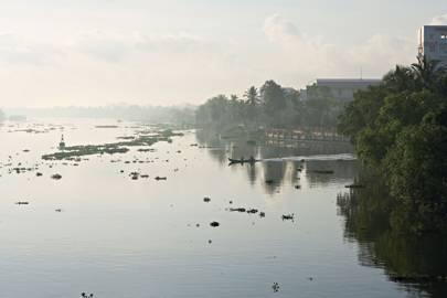 On the Mekong River