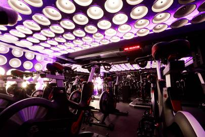 8. Work out in a shiny new gym