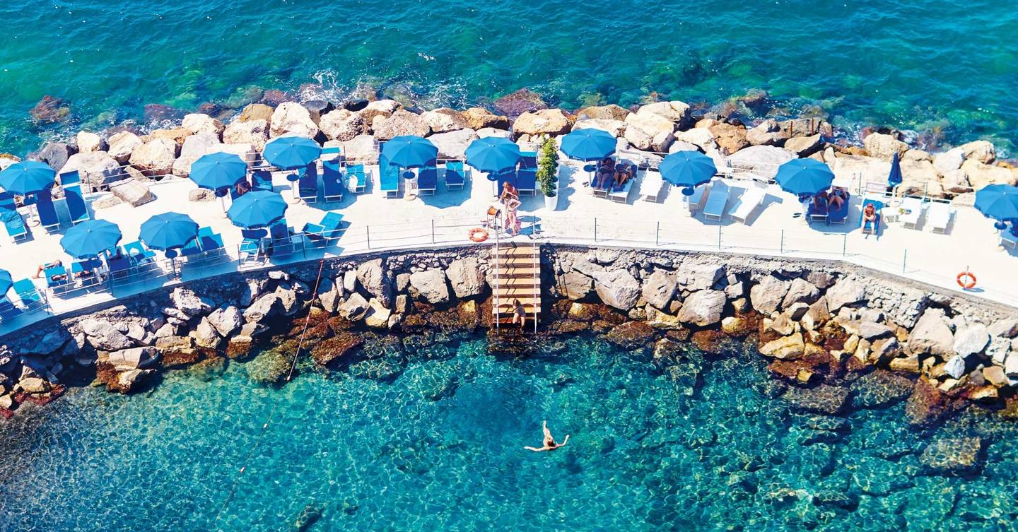 Sorrento italy the sorrentine peninsula cn traveller - Hotel in sorrento italy with swimming pool ...