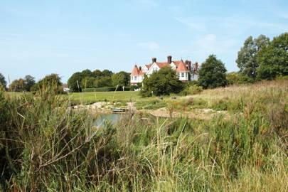 Osea Island, Essex, England