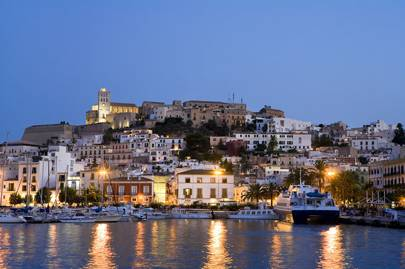 Ibiza's Quiet Interior