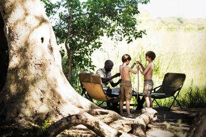 Great safari guides for children, Botswana