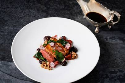 THE GAME BIRD AT THE STAFFORD, ST JAMES, LONDON