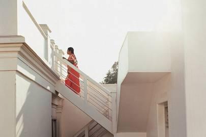 The Bangala stairway