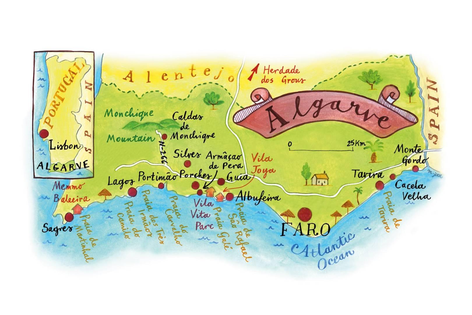 Algarve, Portugal | Condé Nast Traveller | CN Traveller