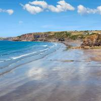 Broad Haven Beach in Pembrokeshire, Wales