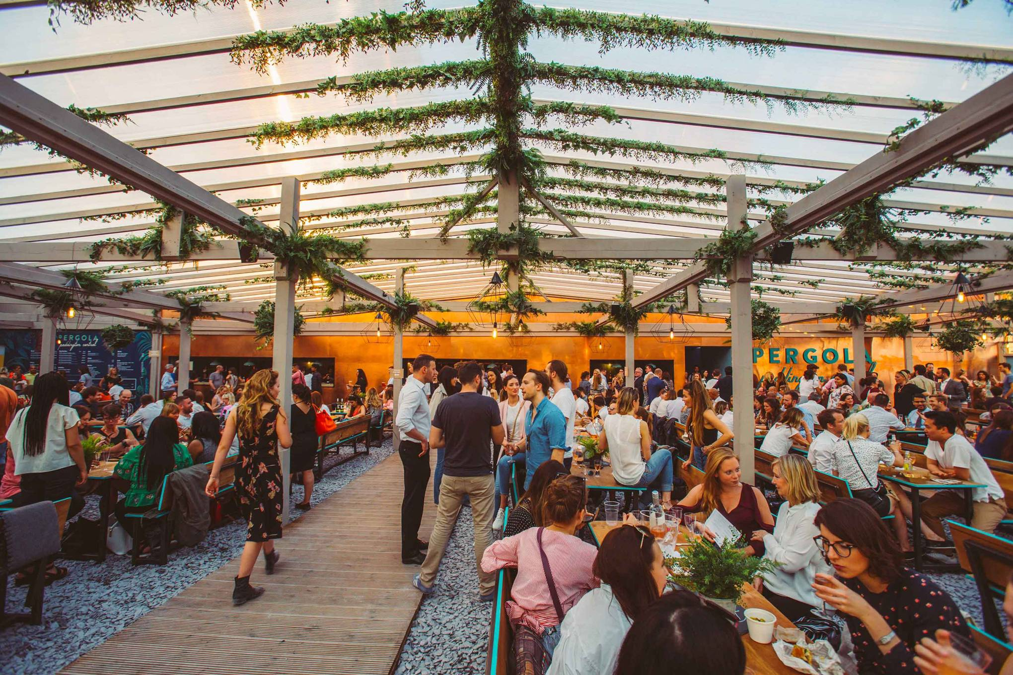 Rooftop bars in London | CN Traveller
