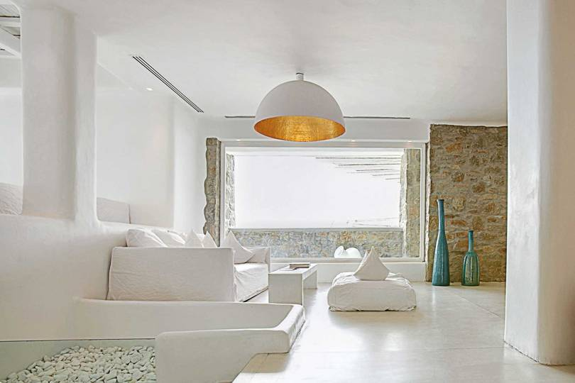 White Colour Trend Hotel Shop Concept Store And