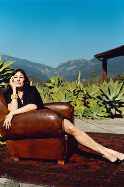 9. Anjelica Huston lets us into her travel secrets