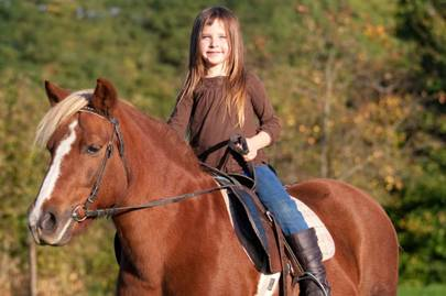 Horse-riding lessons in Cheshire