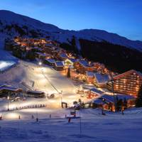 Meribel, French Alps