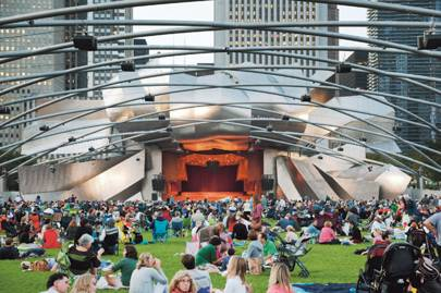 The Jay Pritzker Pavilion