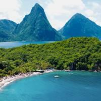 13. Anse Chastanet, Saint Lucia