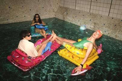 Les bains douche parisian nightclub turned hotel cn for Bain douche paris