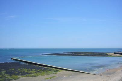 13. Cycle the promenade to a Grade-II-listed tidal pool