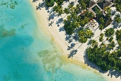 13. The Maldives