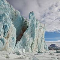 Frozen Planet photography: glacier meltdown in the Arctic