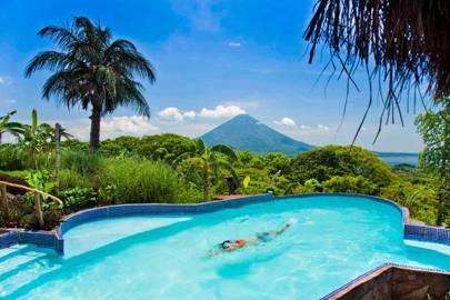 Swimming Pool At Totoco Eco Lodge Ometepe
