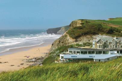6. Watergate Bay Hotel, Cornwall